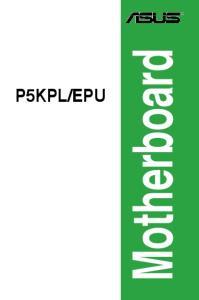EPU. Motherboard