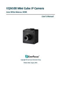 EQN100 Mini Cube IP Camera