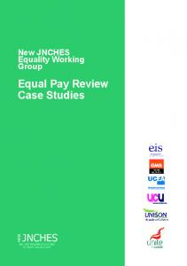 Equal Pay Review Case Studies