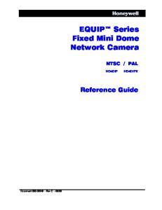 EQUIP Series Fixed Mini Dome Network Camera