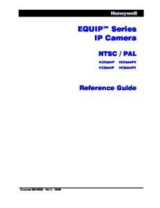 EQUIP Series IP Camera
