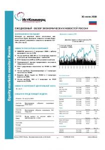 Equity markets monitor Russia