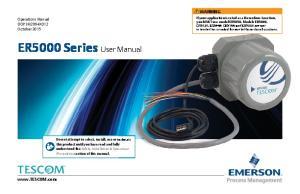 ER5000 Series User Manual
