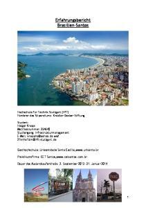 Erfahrungsbericht Brasilien-Santos