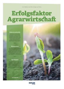 Erfolgsfaktor Agrarwirtschaft