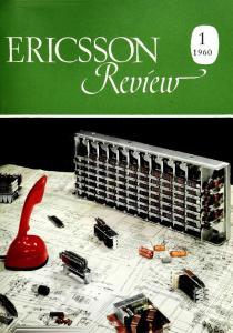 ERICSSON REVIEW CONTENTS. Vol. XXXVII 1960