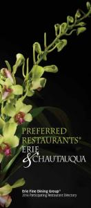 Erie Fine Dining Group 2016 Participating Restaurant Directory