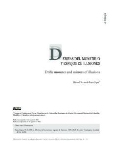 ERIVAS DEL MONSTRUO Y ESPEJOS DE ILUSIONES