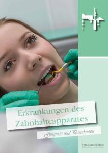 Erkrankungen des Zahnhalteapparates. Gingivitis und Parodontitis. Praxis im Schloss Der Patient als König in fürstlicher Umgebung