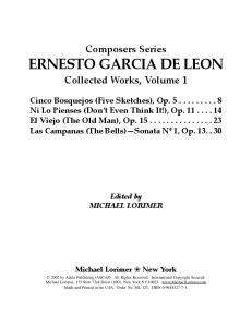 ERNESTO GARCIA DE LEON