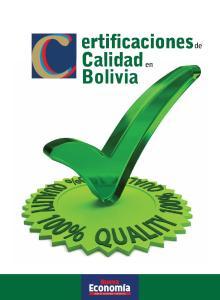 ertificaciones de Calidad en Bolivia