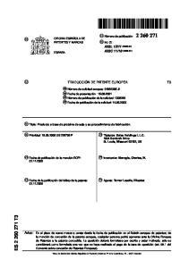 es: Monagle, Charles, W. 74 Agente: Torner Lasalle, Elisabet