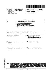 es: Osborne, David, W. 74 Agente: Tavira Montes-Jovellar, Antonio