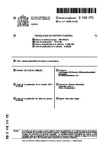 es: Werner, Schneider; k 74 Agente: Isern Jara, Jorge