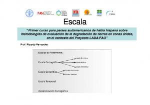 Escala. Prof. Ricardo Fernandez