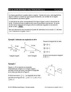 ESCALAS DE FIGURAS Y FACTOR DE ESCALA y 4.1.2