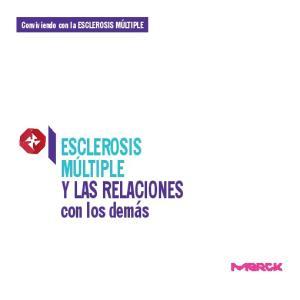 ESCLEROSIS MULTIPLE Y LAS RELACIONES