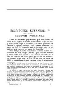 ESCRITORES EUSKAROS. (1)
