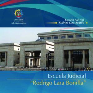 Escuela Judicial Rodrigo Lara Bonilla