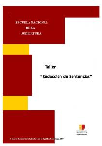 ESCUELA NACIONAL DE LA JUDICATURA