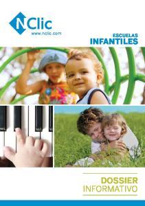 ESCUELAS INFANTILES DOSSIER INFORMATIVO