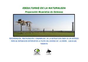 ESCULTURAS DE LA NATURALEZA