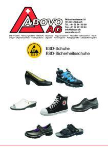 ESD-Schuhe ESD-Sicherheitsschuhe