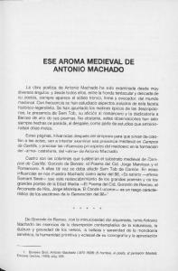 ESE AROMA MEDIEVAL DE ANTONIO MACHADO