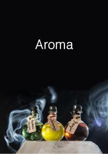 Esencia aroma. Aromas disponibles