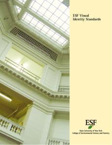 ESF Visual Identity Standards