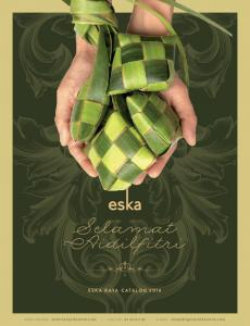 ESKA RAYA CATALOG 2016