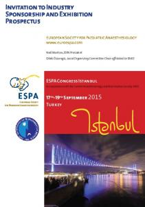 ESPA European Society for Paediatric Anaesthesiology