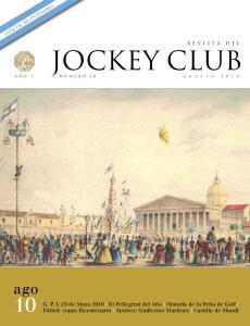 especial bicentenario JOCKEY CLUB ago