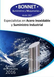 Especialistas en Acero Inoxidable y Suministro Industrial