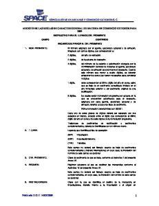 ESPECIALISTAS EN ADUANAS Y COMERCIO EXTERIOR S. C. ANEXO 22 DE LAS REGLAS DE CARACTER GENERAL EN MATERIA DE COMERCIO EXTERIOR PARA 2009