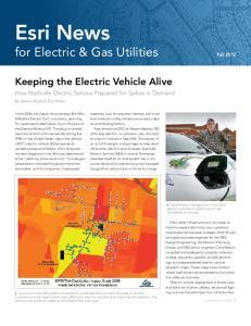 Esri News for Electric & Gas Utilities Fall 2012