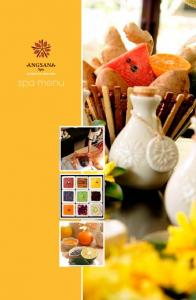 Essence of Angsana. Angsana Indulgence minute & 30-minute Refreshment and Relaxation time. Ayu-Reverie 150