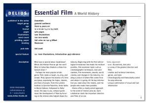 Essential Film A World History