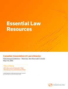 Essential Law Resources