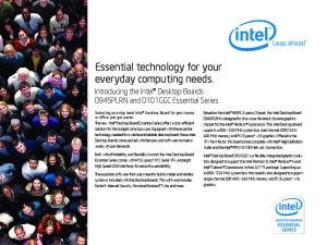 Essential technology for your everyday computing needs