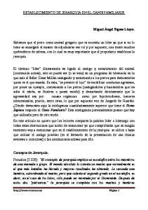 ESTABLECIMIENTO DE JERARQUIA EN EL CANIS FAMILIARIS