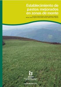 Establecimiento de pastos mejorados en zonas de monte