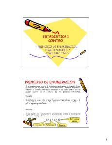 ESTADISTICA 1 CONTEO