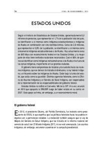 ESTADOS UNIDOS. El gobierno federal