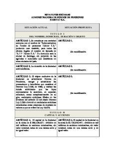 ESTATUTOS SOCIALES ADMINISTRADORA DE FONDOS DE PENSIONES HABITAT S.A