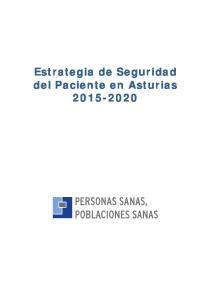 Estrategia de Seguridad del Paciente en Asturias