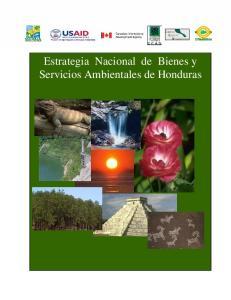 Estrategia Nacional de Bienes y Servicios Ambientales de Honduras