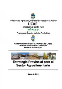 Estrategia Provincial para el Sector Agroalimentario