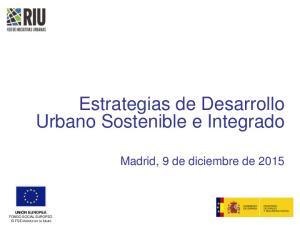 Estrategias de Desarrollo Urbano Sostenible e Integrado