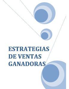 ESTRATEGIAS DE VENTAS GANADORAS